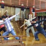 『発表演奏会に向けて 「延喜楽」舞人最終稽古』の画像