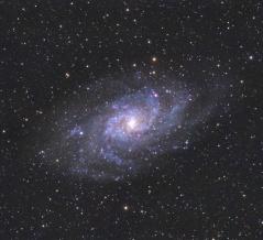 3度目のM33さんかく座銀河の撮影