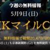 【直前大口】速報!NHKマイルカップ&新潟大賞典 直前大口情報!<2021>