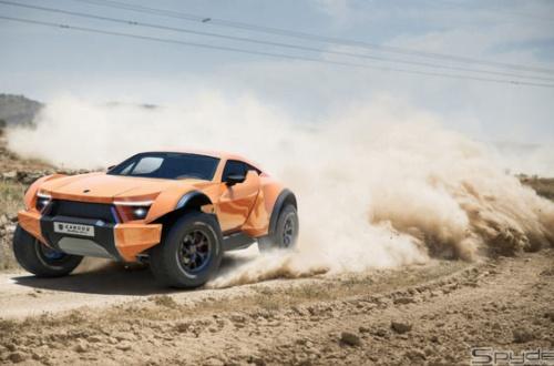 【車】これに勝てる日本車はある? かアラブのスーパーSUV「サンドレーサー」がスゴい…5000万円超のサムネイル画像