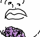 【悲報】俺氏の顎の皮膚、壊死する