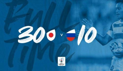 ラグビー日本代表がW杯開幕戦でロシアに勝利(海外の反応)