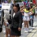 2014年 第11回大船まつり その21(パレード・松竹通り/鎌倉女子大学中高等部マーチングバンド部)の2