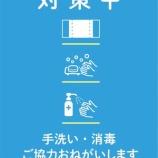 『対策中のポスター』の画像