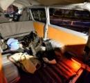 ワゴン車横転 乗っていた12人けが 7人重傷 新宿・山の手通り