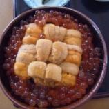 『【2012年北海道最果ての旅】樺太食堂『ウニ丼とペナントが有名な食事処』』の画像