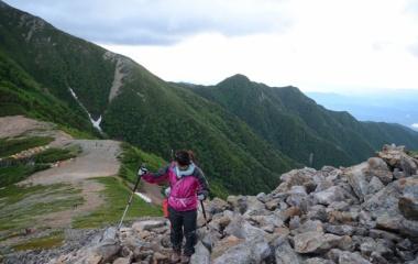 『日本百名山 常念岳へ行ってきましたょ☆ その4』の画像