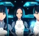 Perfumeが貞本義行デザインで3Dアニメに これって本体はもういらないんじゃ・・・