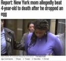 生卵を床に落とした4歳息子を気絶するまで棒で殴打しバスタブに沈め殺害 怒りを抑えられないアメリカの鬼母たち