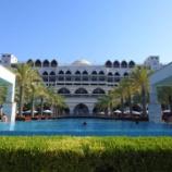 『ドバイ『ジュメイラ・ザビール・サライ』宝石箱のようなホテルへチェックイン。』の画像