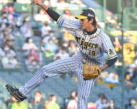 阪神・藤浪が1回を無安打、高まる安定感 6試合連続で無失点 最速は158キロ