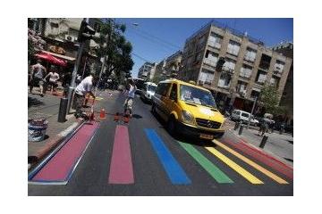 【ブラジル】虹色の横断歩道でLGBTを支援