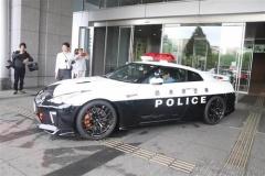 スピード違反は逃さない 栃木県警がR35GT-Rパトカー導入