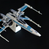 『~作り終えて~ ❹ T-70 X-WING STARFIGHTER の制作後話』の画像