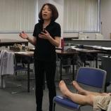 『大杉先生のフットケア講師養成講座、技術試験が行われました』の画像