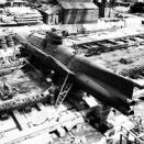 「戦後に放置された日本軍の小型潜水艦たちの姿…」