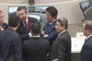 韓国ムン大統領 安倍首相と非公式の接触もなく帰国へ