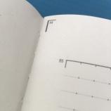 『A4プリントが貼れるノート』の画像