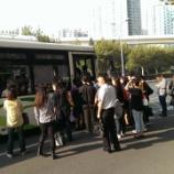『通勤風景@上海』の画像