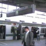 『埼京線に遅れがでています』の画像
