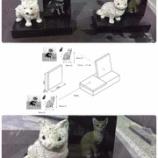 『ペット墓 彫刻』の画像