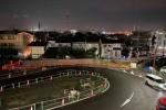 どんどん進む!星田駅北土地区画整理事業の工事現場を夜に観察!〜ゲームの世界みたいでドキドキした〜
