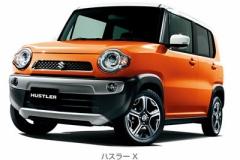 スズキ、軽SUV「ハスラー」を発売(゚∀゚) 104.8万円から MT車有!