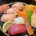 姫路 贅沢上にぎり寿司セット♪《巌流島》