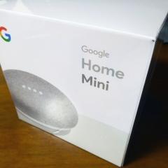 Google Home Miniを使ってみた
