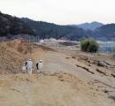 建設中の堤防、盛り土が最大6メートル沈下 長さ70mにわたり/京都府・舞鶴