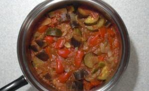 5種類の夏野菜で作るカポナータ