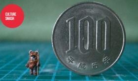 【日本の職人】    日本人が作る 世界最小 100円玉より小さいフィギュアが 凄い!    海外の反応
