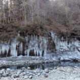 『秩父の氷柱』の画像