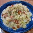 パパッとザックリ作る「ウインナーポテトサラダ」&「市販の釜飯の素も出汁で炊くとそこそこ美味しい」