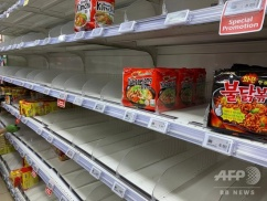 シンガポールさん、国内のスーパーで韓国のラーメンを販売した結果wwwwww