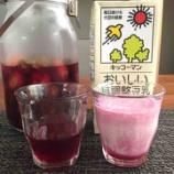 『しそジュースと豆乳でヨーグルトドリンクに変身』の画像