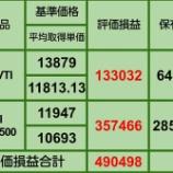 『②【11月の買い増し状況】11月28日 iDeCo、投信評価損益』の画像