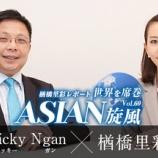 『世界を席巻ASIAN旋風Vol.60~2016年の香港経済を読む『テンガード』(後)~』の画像