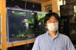 アクアリウムデザイナーの平床さん!倉治の水草専門店WAKABAさんのDNAを引き継ぐONE GREENっていうお店がある!