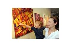 【絵】天才少年(5) 脳性麻痺なのに天才的な絵を描き話題に