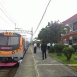 『Nambo線電車入線試験(3月30日)』の画像
