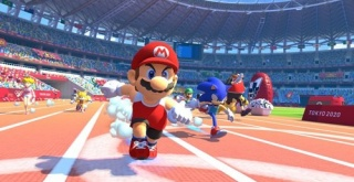 マリオとソニックが共演する人気シリーズ最新作!『マリオ&ソニック AT 東京オリンピック』が2019年冬発売決定!