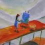 『空を想う絵描きの物語』