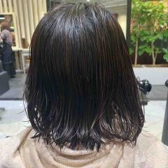 表参道 神宮前 都内で美髪パーマが得意な美容室MINX原宿☆須永健次☆ボブに大人めナチュラルなしっかりめのパーマをかけてみました。