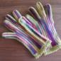 №150-6 オランジュ(プロバンスシリーズ)でかぎ編み手袋 6