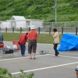『2003年 7月 5~ 6日 夕日海岸移動:深浦町・風合瀬海岸』の画像