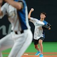 なでしこ熊谷紗希が始球式! 大谷に興奮「凄く大きかった」 アイドルファンマスター