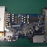 『apple G5 ロジックボード コンデンサ交換手術』の画像