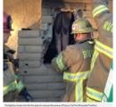 【画像】全裸女性、元カレ宅の煙突の中で身動き取れず。真っ黒な体で2時間後に救出。(米)