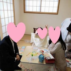娘 平成最後におじいちゃんおばあちゃんちに遊びに行く